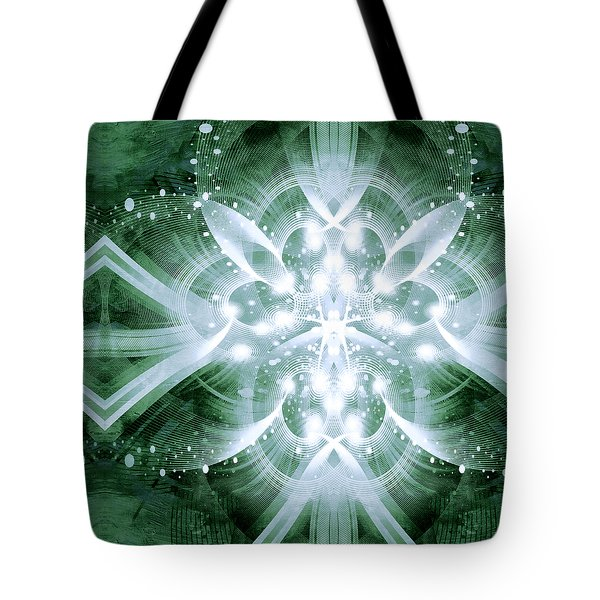 Intelligent Design 5 Tote Bag by Angelina Vick