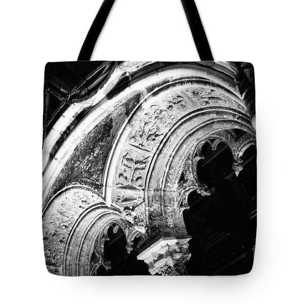 Interesting Architecture Tote Bag by Gaspar Avila