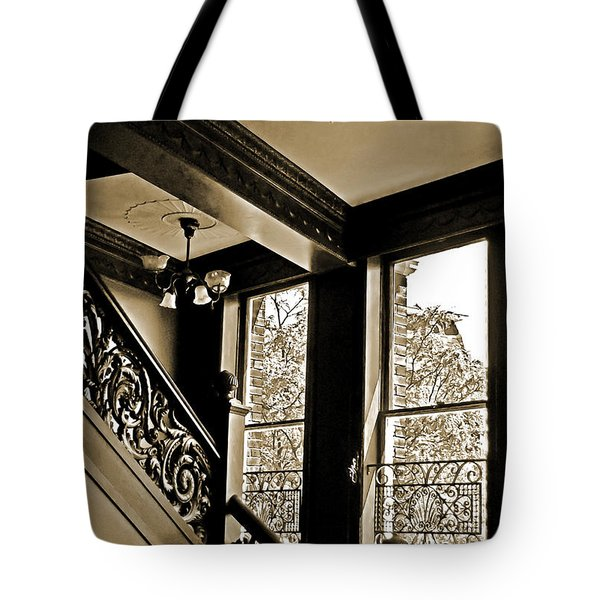 Interior Elegance Lost In Time Tote Bag by DigiArt Diaries by Vicky B Fuller