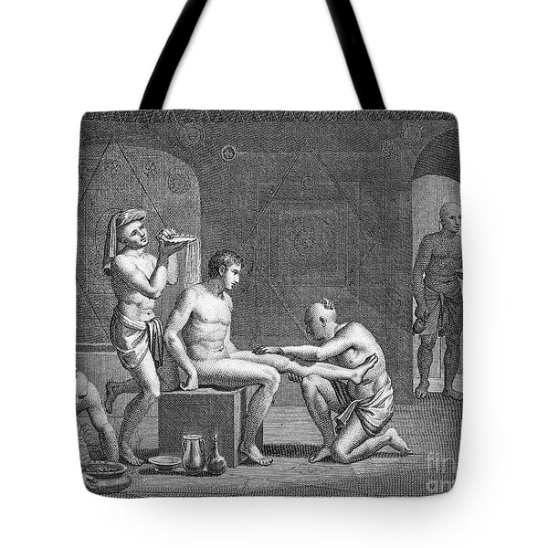 Interior Of Egyptian Bath Tote Bag by Granger