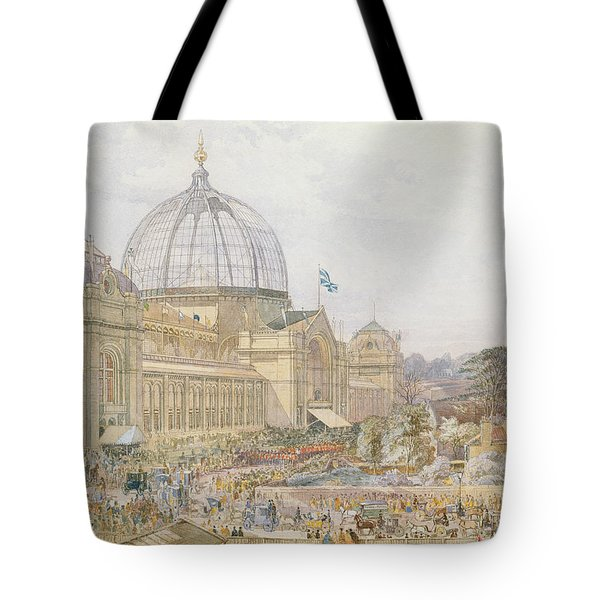 International Exhibition Tote Bag by Edward Sheratt Cole