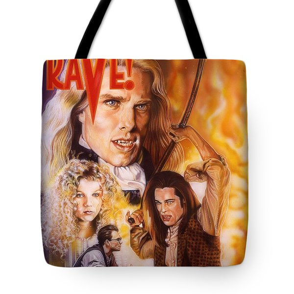 Interview With The Vampire Tote Bag by Tim  Scoggins