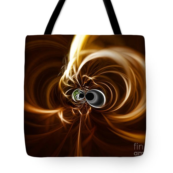 Into The Abyss Tote Bag by Cheryl Young