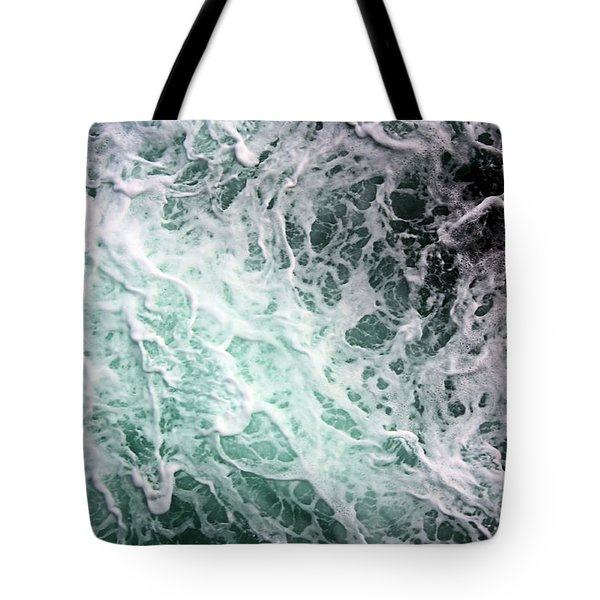 Into The Deep Tote Bag by Kristin Elmquist