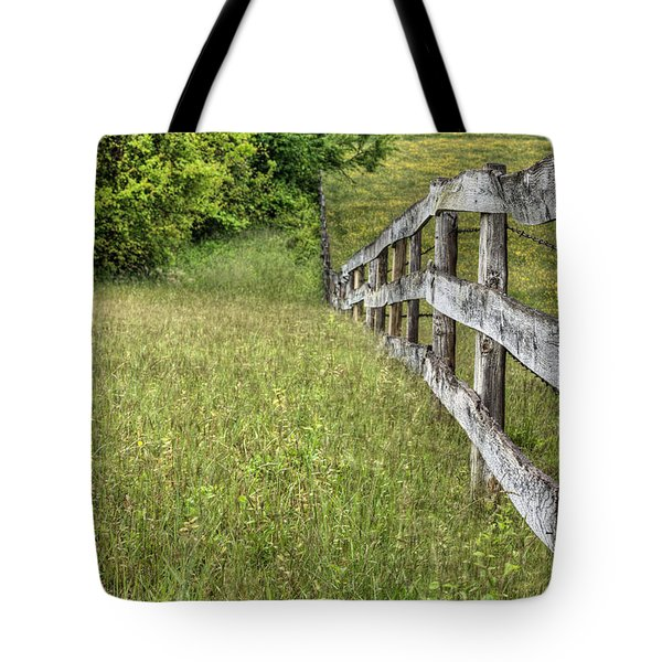 Into the Distance  Tote Bag by JC Findley