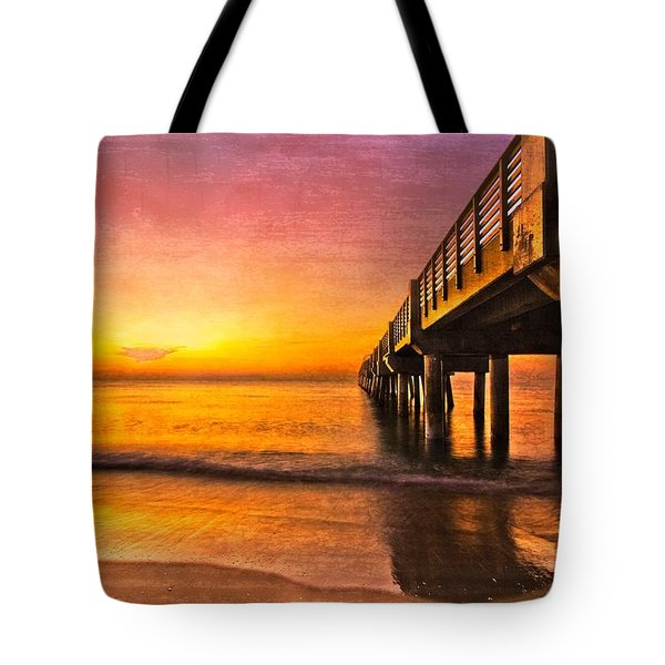 Into The Light Tote Bag by Debra and Dave Vanderlaan