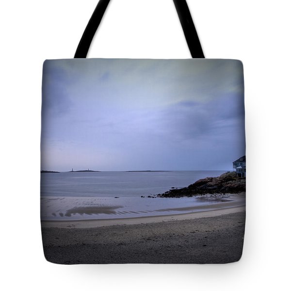 Into The Night In Cape Ann Tote Bag by Brenda Giasson