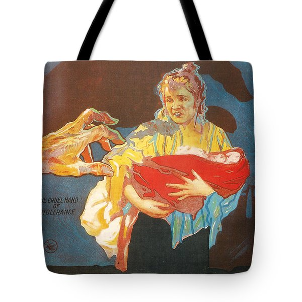 Intolerance Tote Bag by Nomad Art And  Design