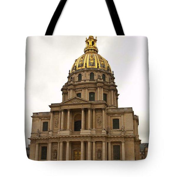Invalides Paris France Tote Bag by Jon Berghoff