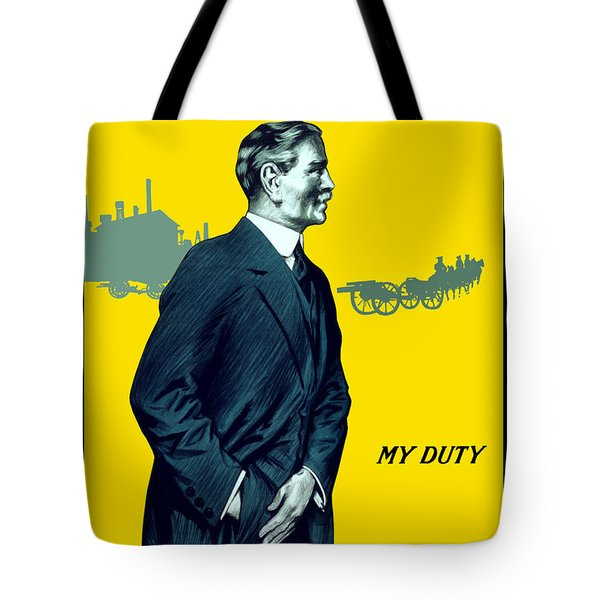 Invest In The War Loan Tote Bag by War Is Hell Store