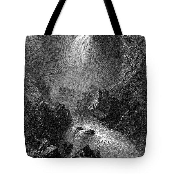 Ireland: Devils Glen, C1840 Tote Bag by Granger