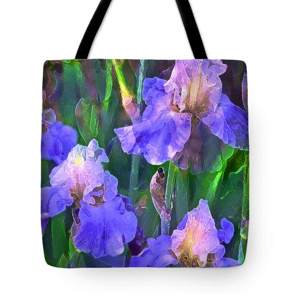 Iris 51 Tote Bag by Pamela Cooper