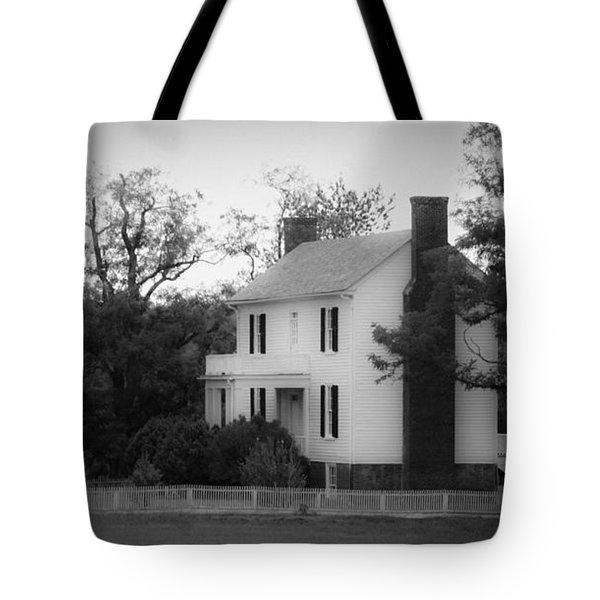 Isbell House Appomattox Virginia Tote Bag by Teresa Mucha