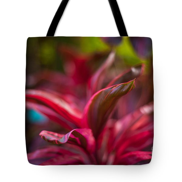 Island Bromeliad Tote Bag by Mike Reid