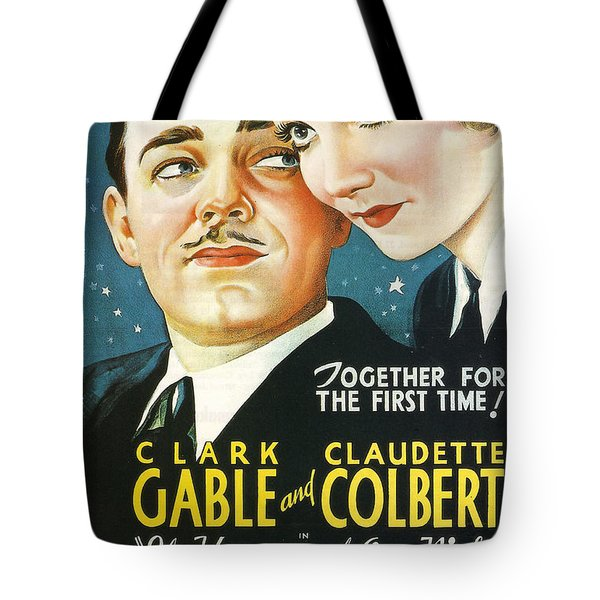 It Happened One Night Tote Bag by Georgia Fowler