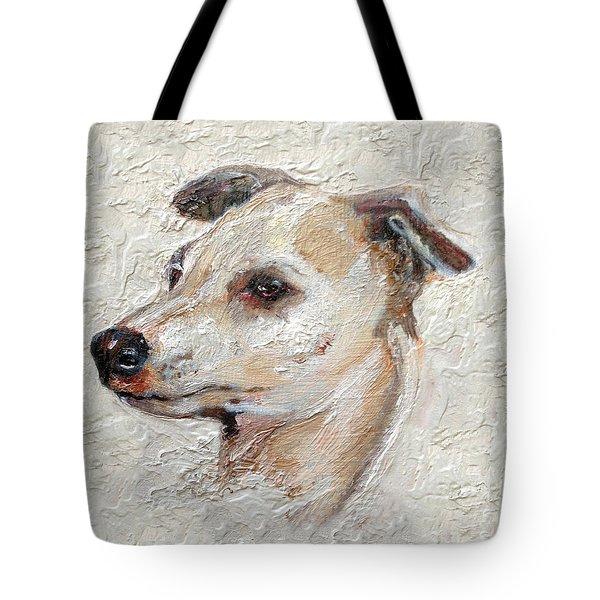Italian Greyhound Tote Bag by Enzie Shahmiri