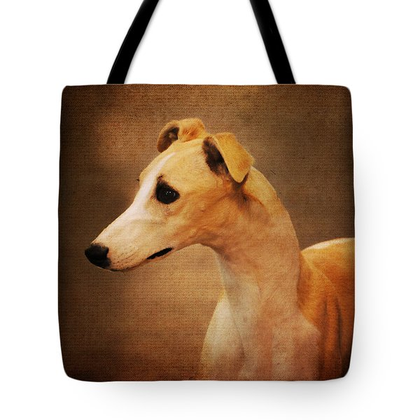 Italian Greyhound Tote Bag by Jai Johnson