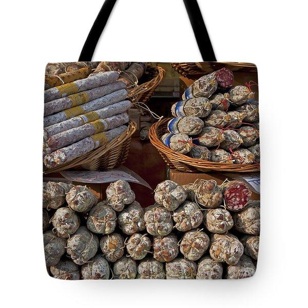 italian market Tote Bag by Joana Kruse
