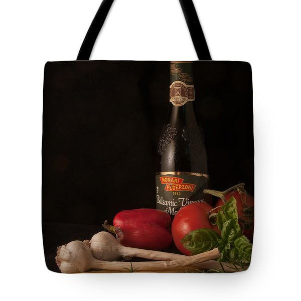 Italian Palate Number 1 Tote Bag by Constance Sanders