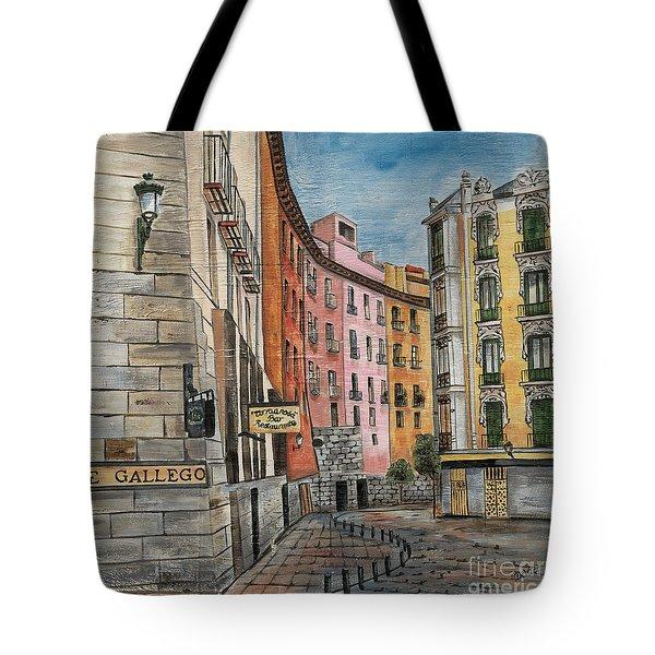 Italian Village 2 Tote Bag by Debbie DeWitt