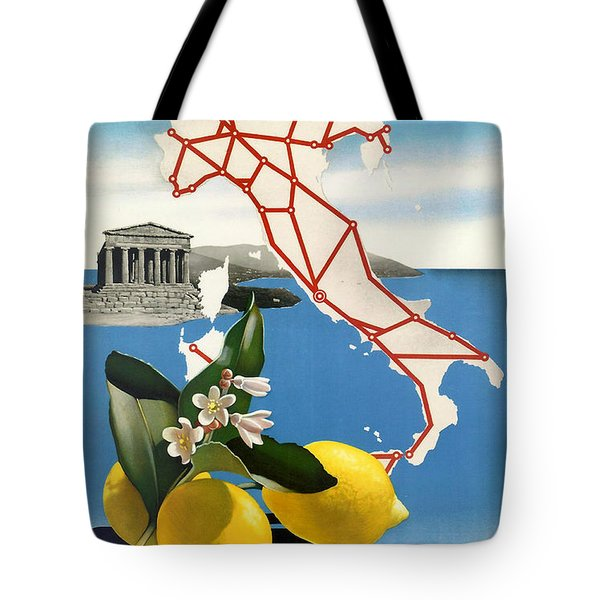 Italy Tote Bag by Nomad Art And  Design