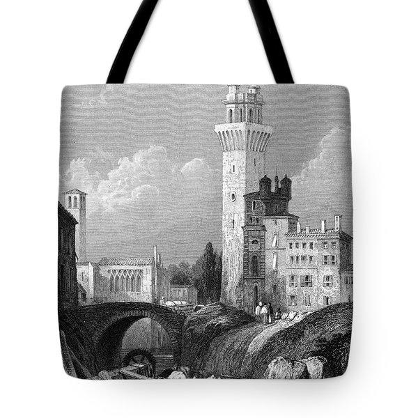 Italy: Padua, 1833 Tote Bag by Granger