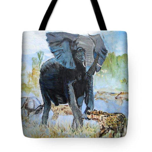 It's A Jungle Tote Bag by Judy Kay