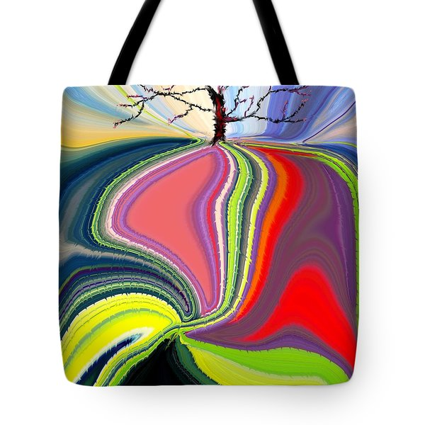 Its A Tree's Life Tote Bag by Renate Nadi Wesley