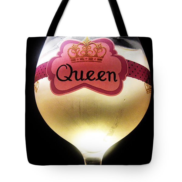 Its Good to be The Queen Tote Bag by Cheryl Young