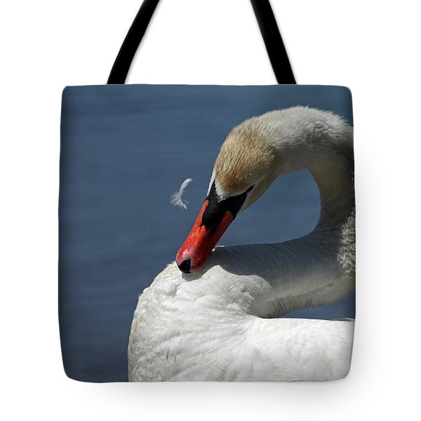 Its Like Pulling Hair Tote Bag by Karol  Livote