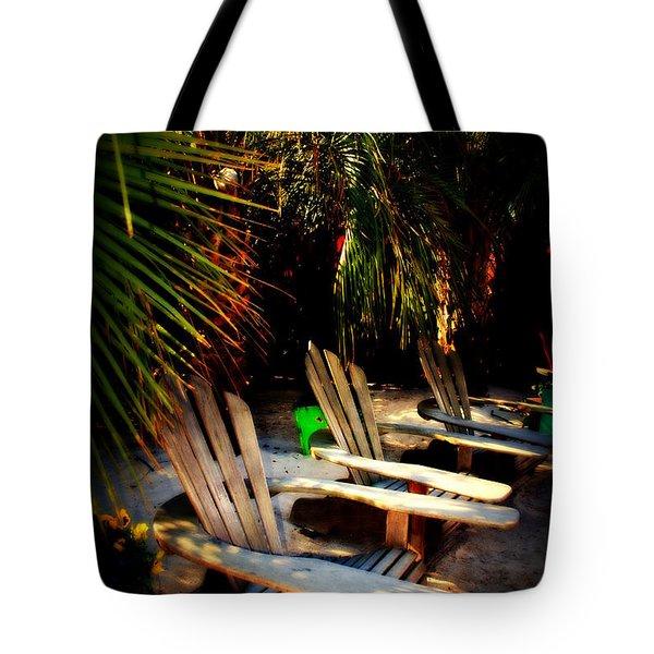 Its Margarita Time In Paradise Tote Bag by Susanne Van Hulst