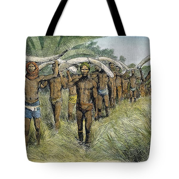 Ivory Trade, C1875 Tote Bag by Granger