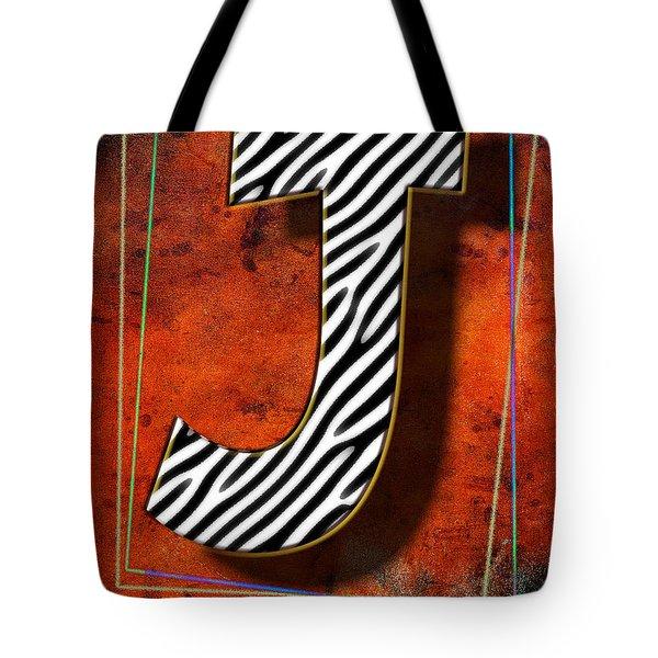 J Tote Bag by Mauro Celotti