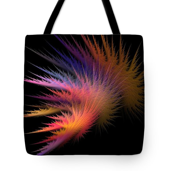 Jagged Edge Tote Bag by Lourry Legarde