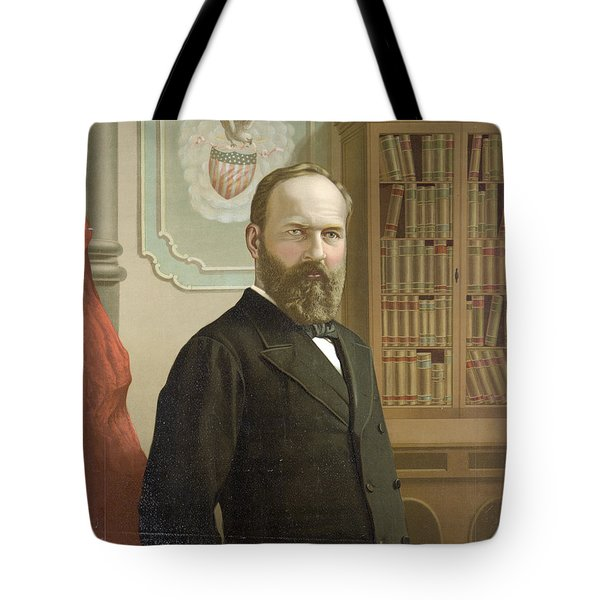 James A. Garfield, 20th American Tote Bag by Photo Researchers