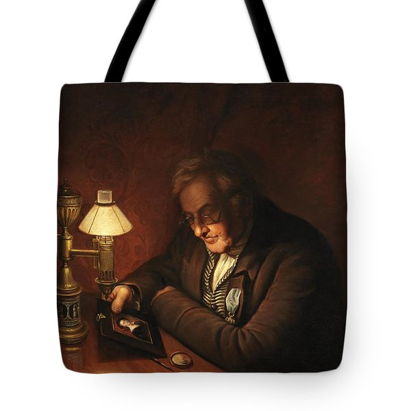 James Peale Tote Bag by Charles Willson Peale