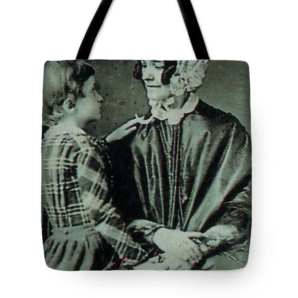 Jane Pierce Tote Bag by Photo Researchers
