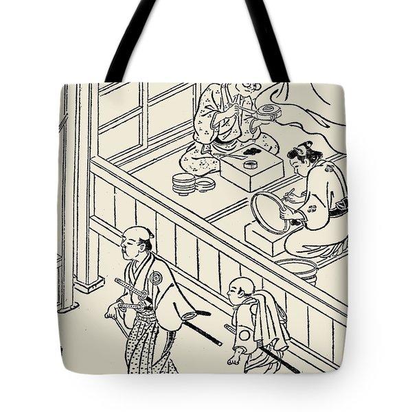 Japan: Samurai, 1700 Tote Bag by Granger