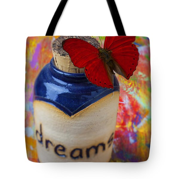 Jar Of Dreams Tote Bag by Garry Gay