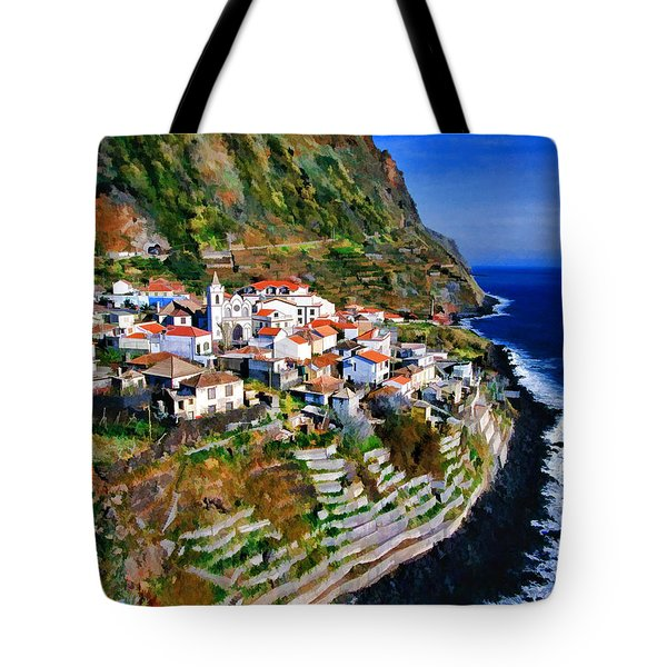 Jardim Do Mar Tote Bag by Dean Wittle