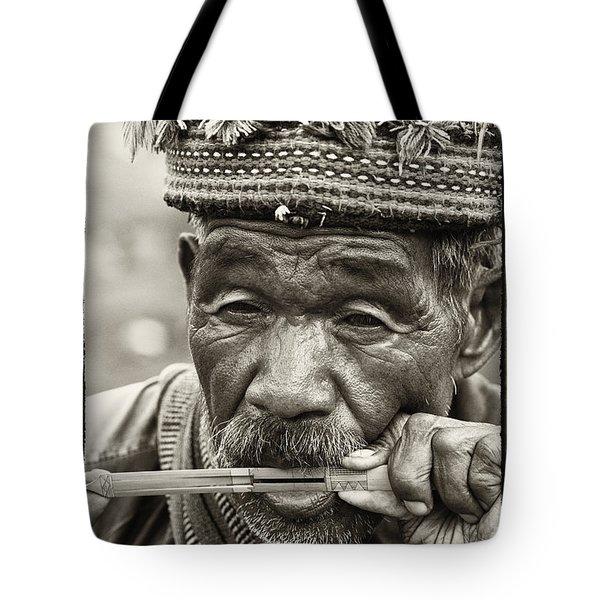 Jaw Harp Tote Bag by Skip Nall