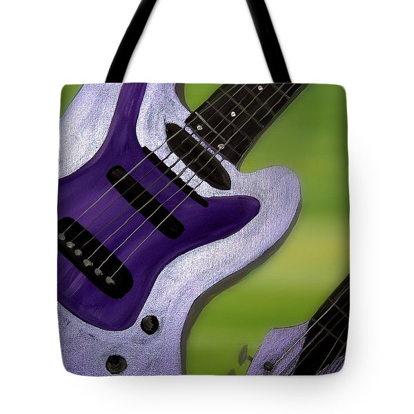Jazz Tote Bag by Mark Moore