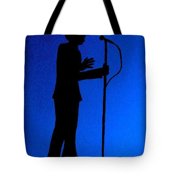 Jazz Singer Tote Bag by Julie Brugh Riffey