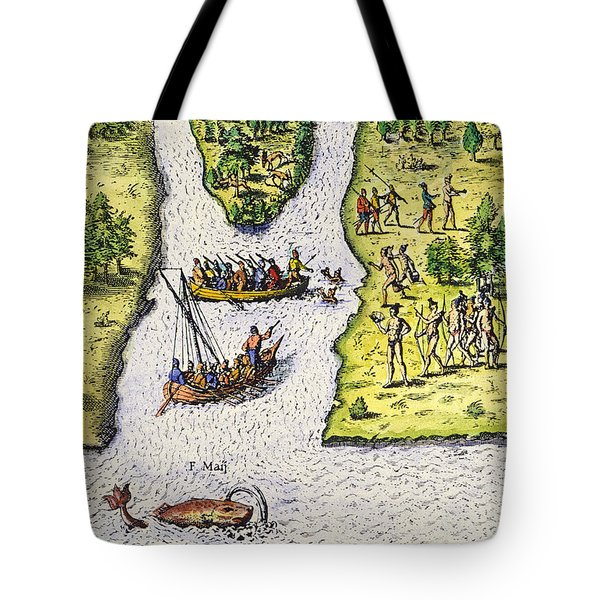 Jean Ribault: Florida, 1562 Tote Bag by Granger