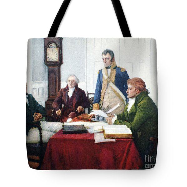 Jefferson & Dupont, 1801 Tote Bag by Granger