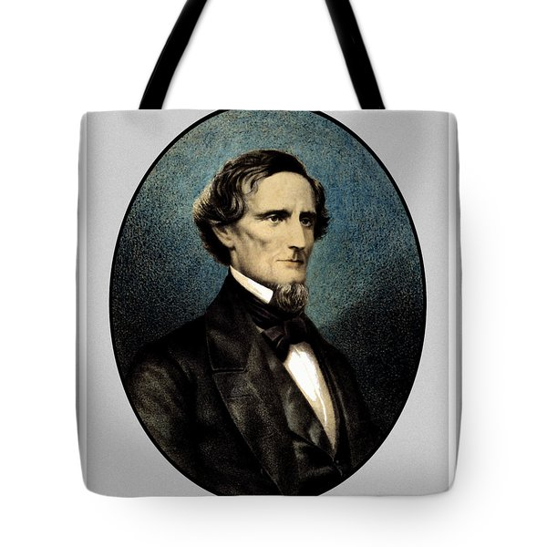 Jefferson Davis Tote Bag by War Is Hell Store