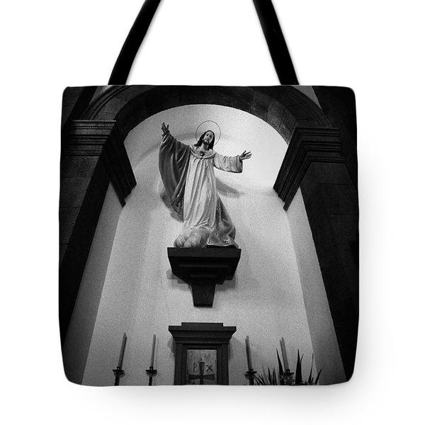 Jesus Christ Tote Bag by Gaspar Avila