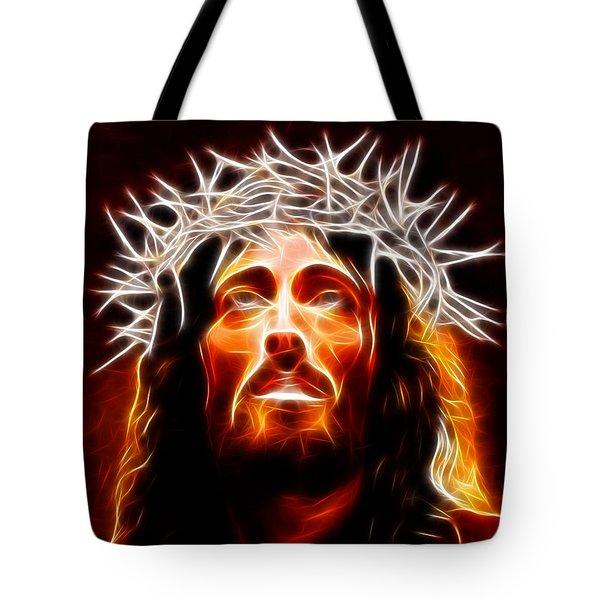 Jesus Christ Our Savior Tote Bag by Pamela Johnson