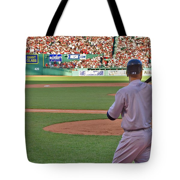 Jeter Tote Bag by Joann Vitali