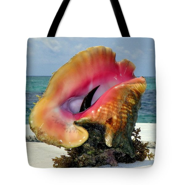 Jewel Of The Deep Tote Bag by Karen Wiles